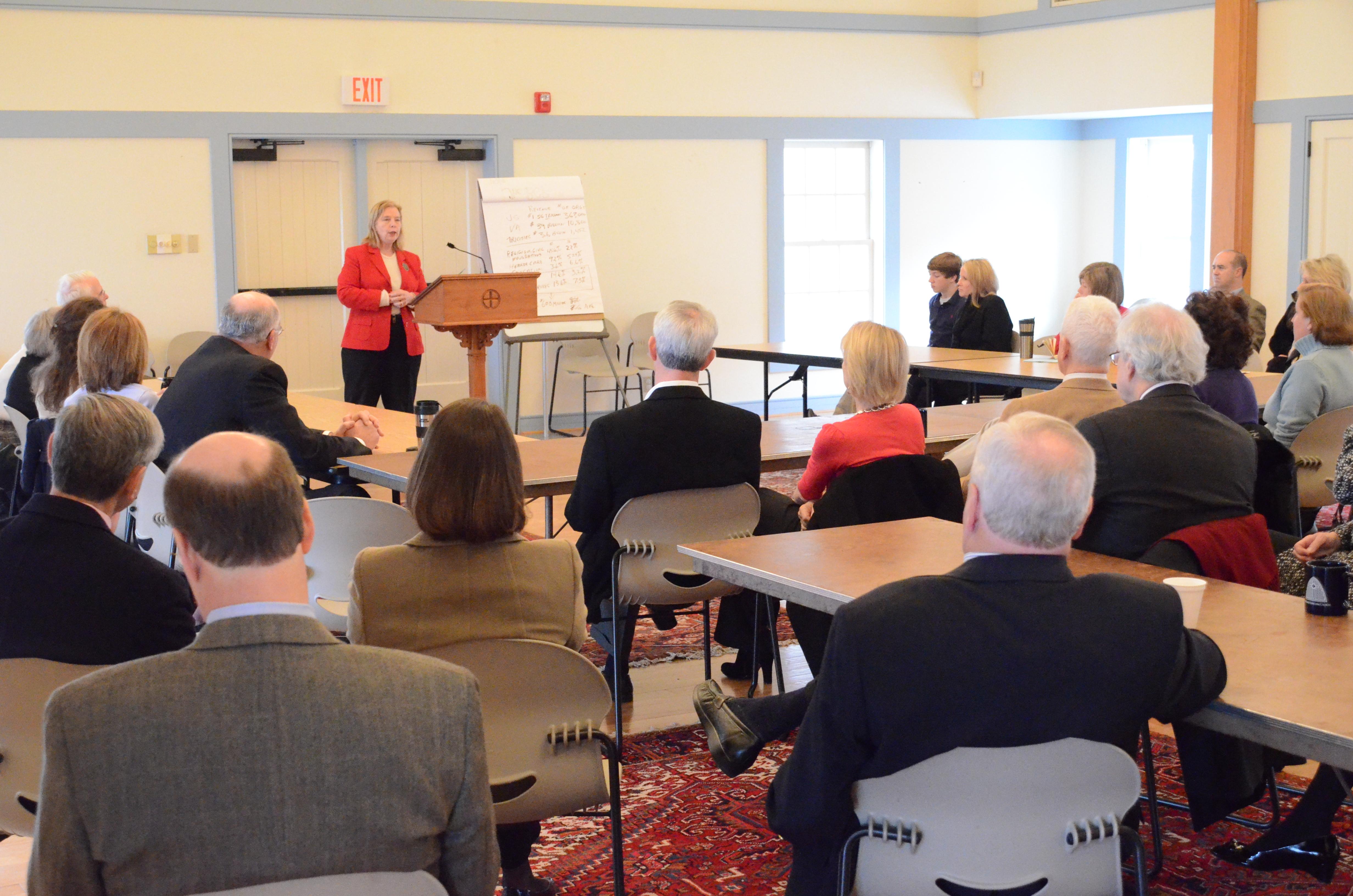 Service in Community Speaker Series Begins