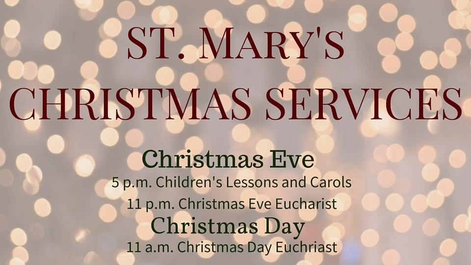 Christmas services slider